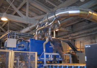 Воздуховод полиуретановый Ду 250 мм стенка 1.1 мм