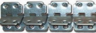 Соединитель В 2 ,L-600 мм, для ленты толщиной 13 мм, мин Ду бараб 130 мм