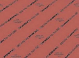 ФТОРОПЛАСТОВЫЙ материал  KLINGER  TOP-CHEM2005, толщина 2 мм,1500*1500 мм