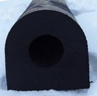 DК-образный привальный брус 450х450 х2000 мм (DК-225х225)