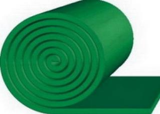 Очищающая резина TRS GREEN SKIRT — 30*250*10000 мм