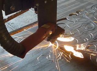 Станок газово-плазменной резки с порталом мех-обработки