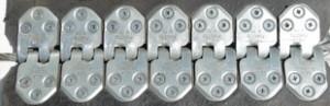 Соединение шарнирное винтовое Folla Furetto-800 мм,  толщина ленты ленты: 10 мм