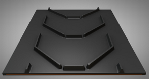 Лента конвейерная 650 EP250/2 3/1 C15 P385 Open U (толщина 6 мм )