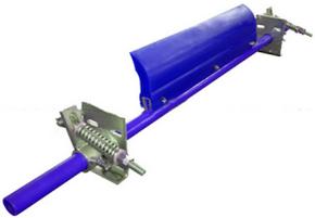 Скребок грубой очистки 400 мм.V ленты <3.5 м/с,H- ножа 182 мм;
