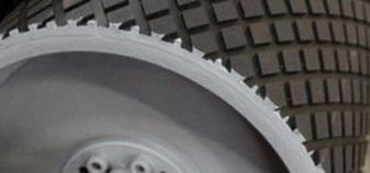 Резина футеровочная TRS MINI 60 на барабане 12*2000*10000 мм, Ромб 33 мм × 17 мм,