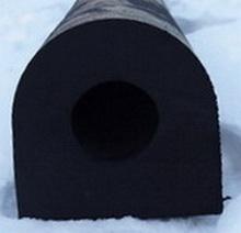 DК-образный привальный брус 400х400 х2000 мм (DК-200х200)