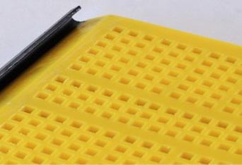 Ячейка 20-20 мм (квадратные, Толщина сита 40 мм Размеры 1000-3000 мм