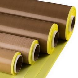 ПТФЭ-Стеклоткань стандартного качества,ширина 1000 мм,толщина 73 микрон