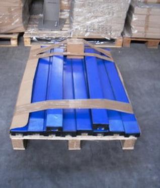 Упакованные противоударные балки 50*100*1220 мм