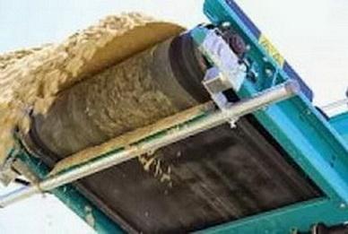 Скребок тонкой очистки 1000 мм. H- ножа 170 мм;кол-во сегментов 9
