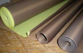Тефлоновые ленты электрической категории. Ширина- 1100 мм Толщина -0,14 мм