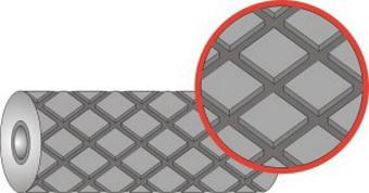Футеровочная резина TRS TETRA Профиль: квадрат 20 мм × 20 мм