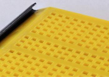 Ячейка 13-13 мм (квадратные, Толщина сита 40 мм Размеры 305*305 мм