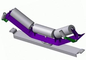 Роликоопора ЖЦГ50-108-30 для ширины ленты 500 мм