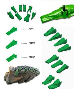 Система зубьев Esco