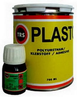 Двухкомпонентная клеевая смесь TRS PLASTO для горячей вулканизации