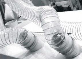 Воздуховод из полиуретана PU толщина стенки 1.0 мм