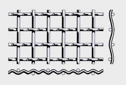 Вид плетения тип форма В —сложнорифленная сетка