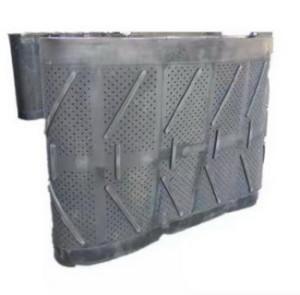 Дробемётная лента 42236, : 4850 мм* 1400 мм Диаметр отверстий-10 мм Толщина 24 мм
