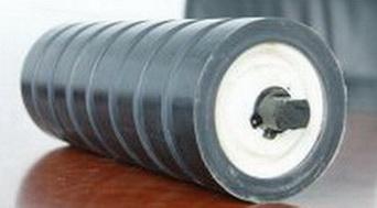 Ролик амортизирующий с кольцами прямоугольным профилем 76*109*40 мм