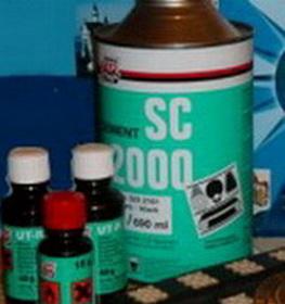 Клей Тип Топ SC 2000 для холодной вулканизации.