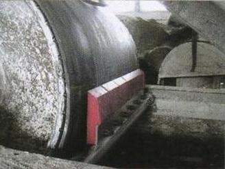 Скребок-очиститель полиуретановый ( 7 сигментов , ширина-840 мм)