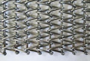 Транспортерная сетка сборная одинарная (Тип-3 ). Ячейка 15*15 мм. Ду пров 1.5 мм