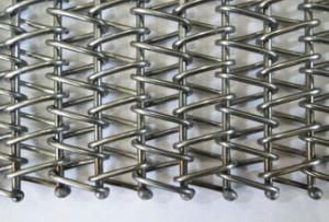 Транспортерная сетка сборная одинарная (Тип-3 ). Ячейка 10*10 мм. Ду пров 1.2 мм