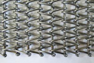 Транспортерная сетка сборная одинарная (Тип-3 ). Ячейка 20*20 мм. Ду пров 1.8 мм