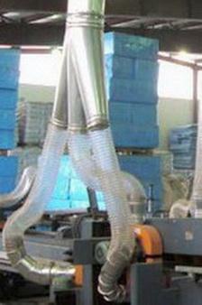 Воздуховод из полиуретана Ду 150 мм PU толщина стенки 1.1 мм