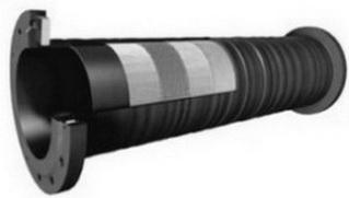 Напорный трубопровод Ду 250 мм, Р-5 Атм, L-9000 мм ,Ду отв 22 мм, Кол-во отв ий 8 шт