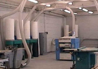 Воздуховод PU 0.7 мм Ду 180 мм для оборудования по деревообработке.