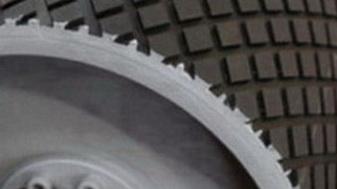 Резина футеровочная TRS MINI 60 ECO на барабане 10*2000*8000 мм, Ромб 33 мм × 17мм