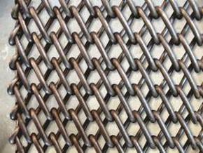 Транспортерная сетка плетеная одинарная (Тип-2 )Вид 2. Ячейка 15*15 мм. Ду пров 1 мм, ширина 1000 мм