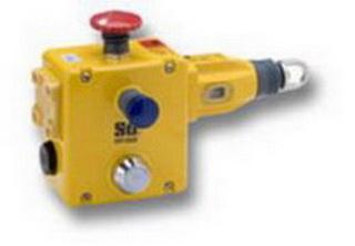 Тросовый выключатель ER 1022-021MEL , 125m тросс, IP67, Индикатор, E-Stop, кнопка сброса, 4 НЗ+2 НР,4