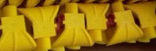 Форсунки полиуретановые с распылителем Ду 6 мм и резьбой наружной 3/4. Готовые к отправке