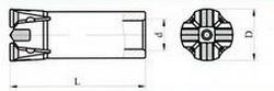 Крестовые коронки БКР Ду 43 -32 L-114