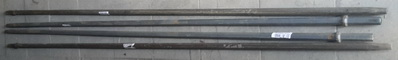 Штанга буровая ШБШ 25-2400мм -Х01-К7, сталь 28ХГН3МА