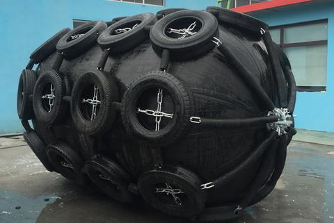 Кранец пневматический Ду 2000*L6000мм вес изделия 1600 кг