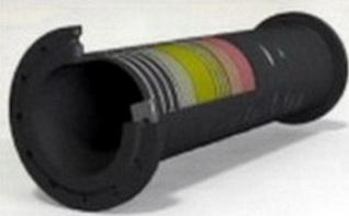 Напорновсасывающий трубопровод ,Ду 200 мм,L-10000мм, Раб вакуум 0.8 Атм , Р-10 Атм, Ду отв 22 мм, Кол-во отв- ий 8 шт