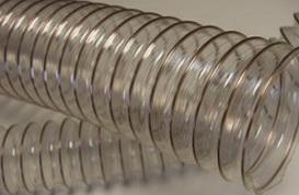 Воздуховод из полиуретана PU Ду 80 мм толщина стенки 0.5 мм