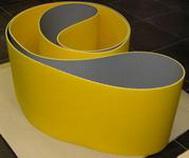 Цельнотканная бесшовная лента , P2.0, KNL/0.1 mm PU, толщина 2.0 мм, материал корда 50% хлопок/ 50% нейлон