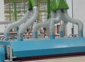 Воздуховод абразивостойкий полиуретановый Ду 350 мм PU-2.0 мм