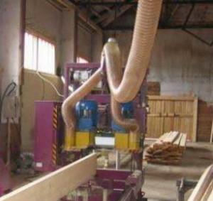 Воздуховод PU 1.3 мм Ду 200 мм для деревообрабатывающего станка
