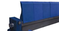 Скребок-очиститель полиуретановый ( 6 сигментов , ширина-720 мм)