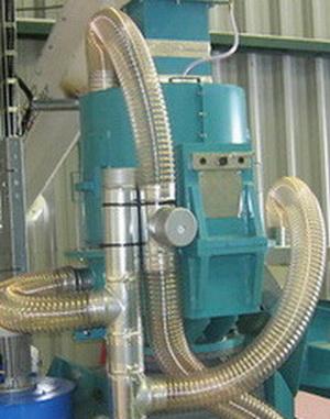 Оборудование с воздуховодом PU-0.7 мм .Ду 180 мм