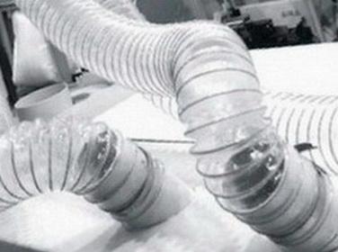 Воздуховод из полиуретана PU Ду- 250 мм толщина стенки 0.9 мм