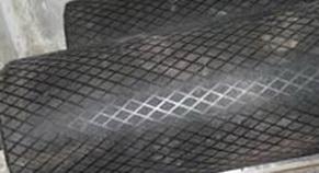 Резина футеровочная TRS MINI 60 на барабане 8*2000*10000 мм, Ромб 33 мм × 17 мм,