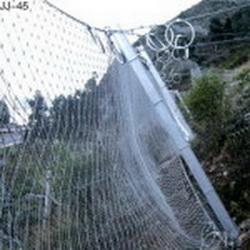 Сетчатый барьер от схода снежных лавин